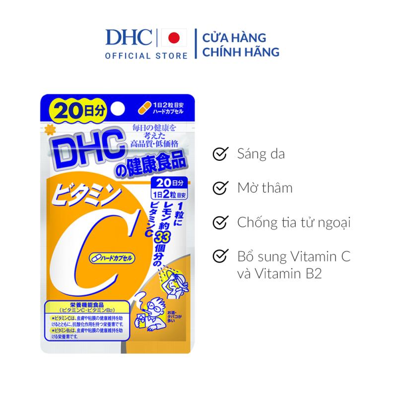 Viên uống DHC bổ sung vitamin C 20 ngày của Nhật Bản giá rẻ
