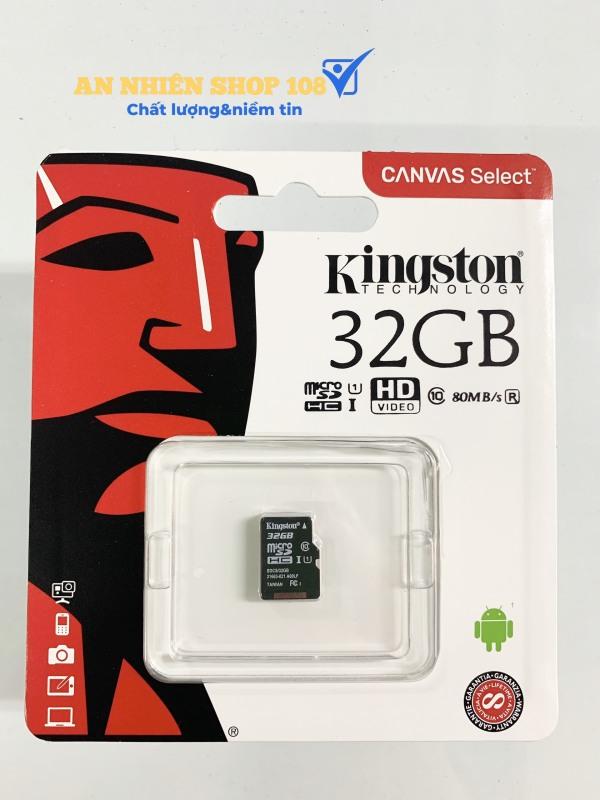 Thẻ nhớ 32GB KINGSTON MICRO SD CLASS 10
