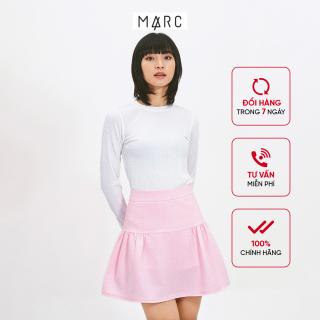 Váy nữ MARC FASHION mini nhún rã thumbnail