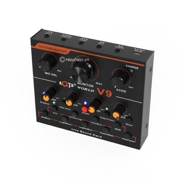 Giá Sound card V9 livestream hiệu ứng đa dạng