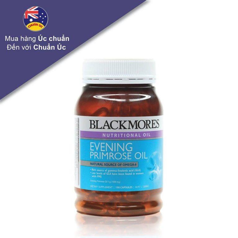 Viên uống BLACKMORES EVENING PRIMROSE OIL (190 Viên) nhập khẩu