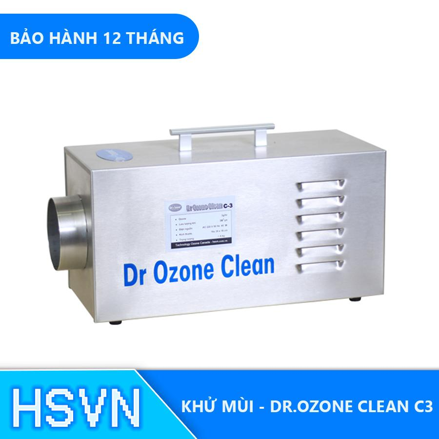 Giá Máy khử mùi phòng khách sạn Drozone Clean C3