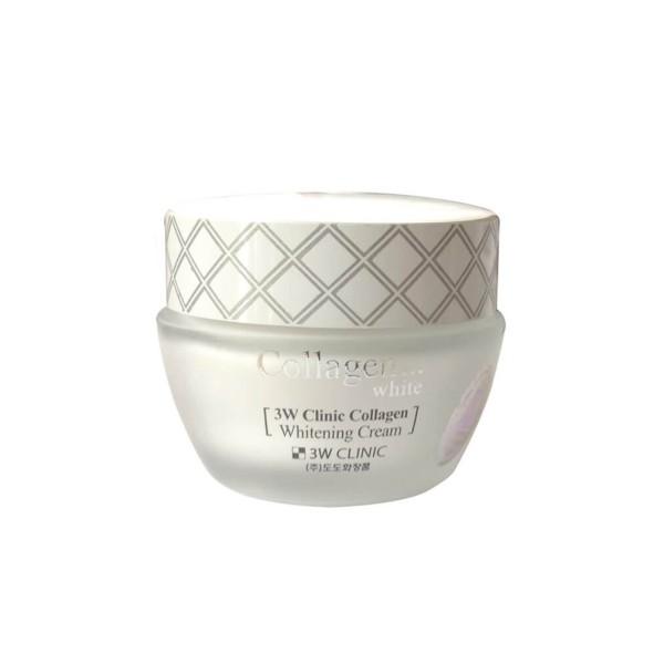 KEM DƯỠNG TRẮNG DA 3W CHỐNG LÃO HÓA, DƯỠNG ẨM DA Clinic Collagen Whitening Cream Frorence86 Store