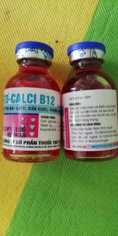 2 lọ RTD - CALCI - B12 loại  20 ml ĐẶC TR-Ị BẠI LIỆT CÒI CỌC THIẾU MÁU
