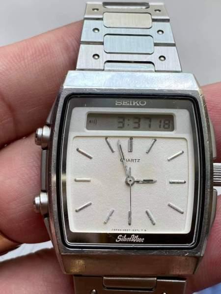 đồng hồ nam Seiko Silver