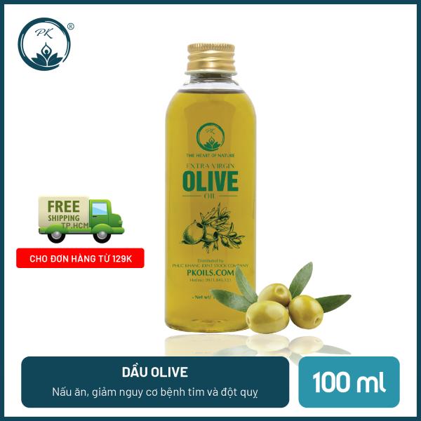 Dầu olive ép lạnh extra cao cấp PK - sử dụng trong nấu ăn, chăm sóc da