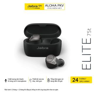 [HÀNG SIÊU CHẤT] Tai Nghe Bluetooth Jabra Elite 75t, Tai Nghe Jabra Bluetooth 5.0 Tự Động Kết Nối, Sạc Nhanh, Bass Trâm, Pin Trâu Nghe Nhạc Liên tục 5h, Dùng Cho Mọi Dòng Máy (Iphone, Samsung, Xiaomi, Huewei) thumbnail