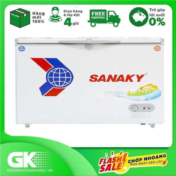 TRẢ GÓP 0% - Tủ Đông Sanaky inverter 360 lít VH-3699W3- BTRẢo hành 2 năm