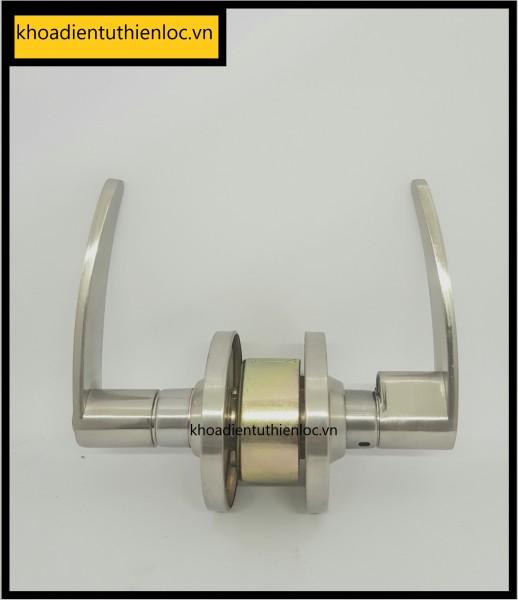 Khóa cửa tròn gạt Zani 3491 SN - Trắng mờ, chất liệu hợp kim cao cấp, chịu được thời tiết khắc nghiệt, có thể thay CÒ để phù hợp với mọi chất liệu cửa
