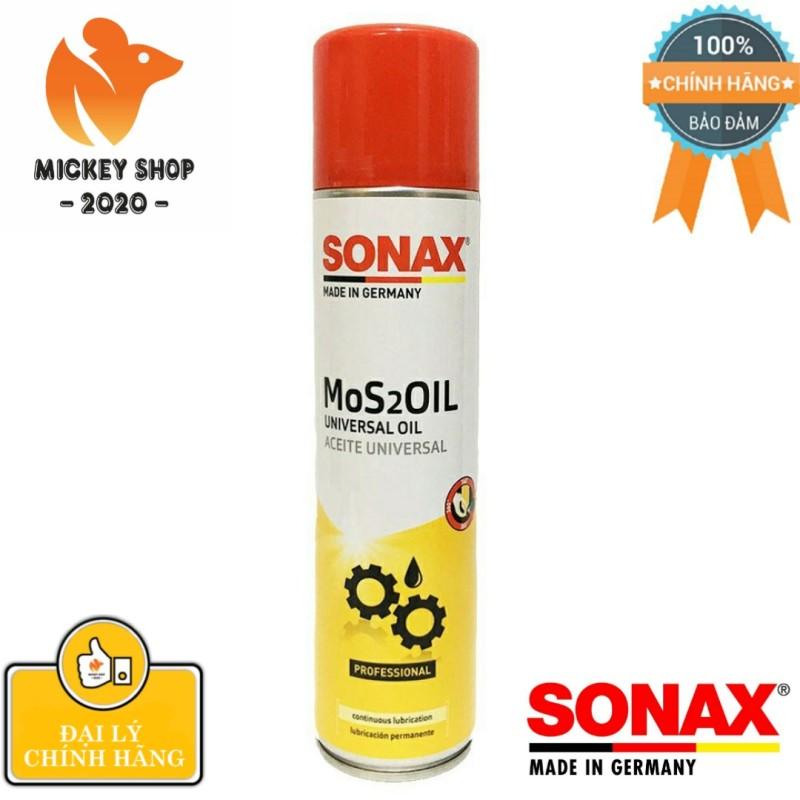 [ CAO CẤP] Dầu Bảo Quản Và Chống Rỉ Sét Sonax Mos 2 oil 339400 400 ml