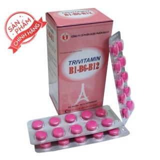 Vitamin 3B B1-B6-B12 Đại Uy-g bổ sung vitamin nhóm B -Giảm nguy cơ đột quỵ - tăng cường hệ miễn dịch của cơ thể. thumbnail