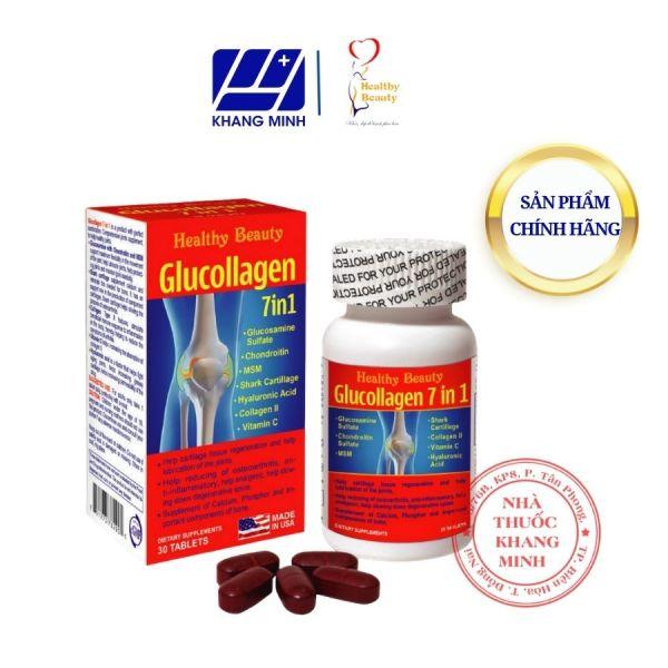 Healthy Beauty HB GLUCOLLAGEN 7 IN 1 (C/30V) - Thực Phẩm Chức Năng - Hỗ trợ Xương Khớp, Canxi giá rẻ