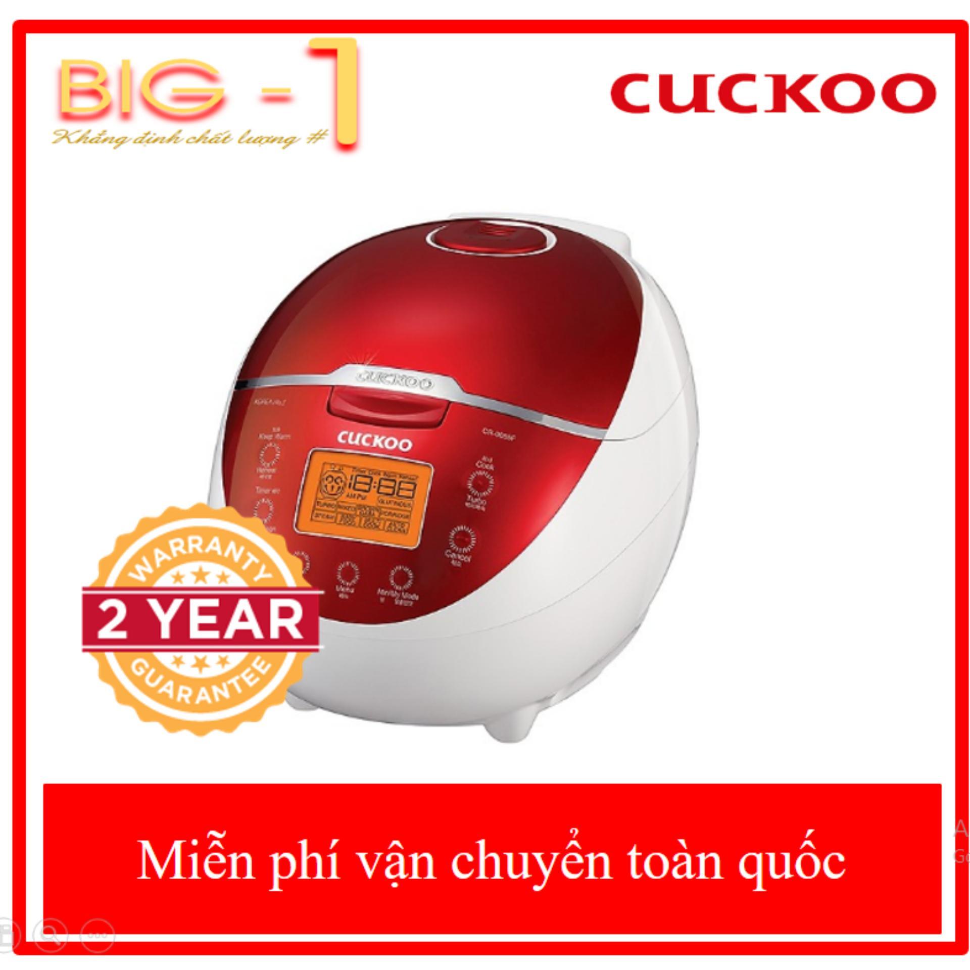 Bảng giá [FREE-SHIP] Nồi Cơm Điện Tử Cao Cấp Cuckoo CR-0655F (1.08 Lít) - Bảo Hành 2 Năm Điện máy Pico