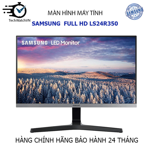 Bảng giá Màn hình viền mỏng Samsung FHD LS24R350 - Chính hãng samsung Phong Vũ