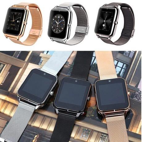 Đồng hồ thông minh Z60 kết nối Bluetooth, hỗ trợ sim và thẻ TF, đồng hồ đa ngôn ngữ cho chạy Android & IOS - INTL TẶNG KÈM TÚI CHỐNG NƯỚC ĐIỆN THOẠI