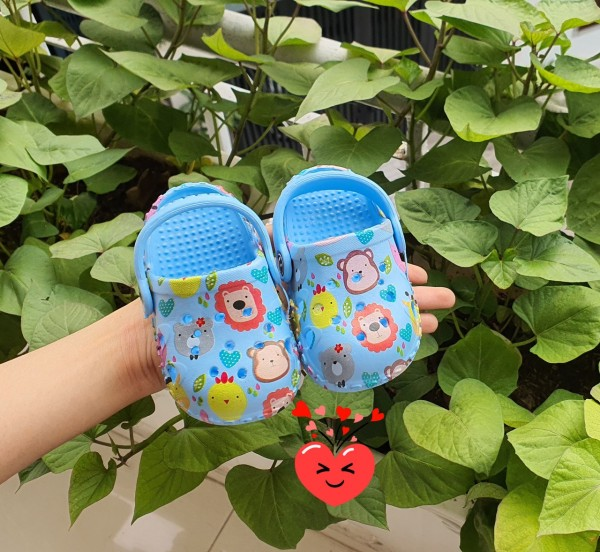 Giá bán Giày sục, giày tập đi cute cho em bé điệu tết 2021 đáng yêu