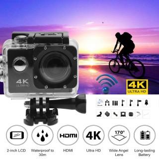 Camera hành trình chống nước 4K SPORT Ultra HD DV, Camera Hành Trình 4K Sports Cao Cấp Nhỏ Gọn Lấy Nét Hd Tự Động Chụp Hình Quay Video Chất Lượng Hd1080 Hình Sắc Nét.BẢO HÀNH 1 ĐỔI 1 TOÀN QUỐC BỞI F88 PLUS thumbnail