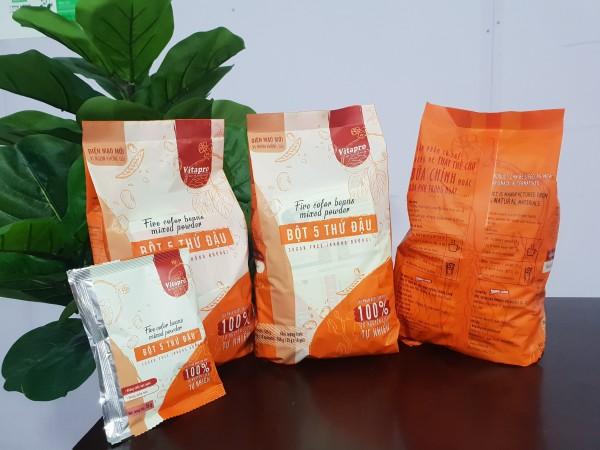 [HCM]Bột ngũ cốc 5 thứ đậu không đường Vitapro cao cấp
