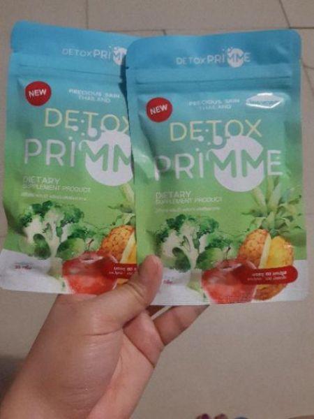 Viên uống rau quả giảm cân khử mỡ Detox Primme chính hãng Thái lan cao cấp