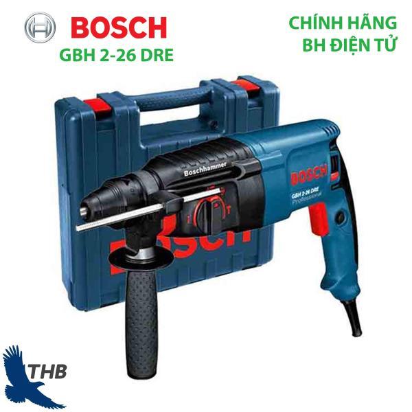 Máy khoan đục bê tông Máy khoan búa Bosch GBH 2-26 DRE Công suất 800W Bảo hành điện tử 12 tháng