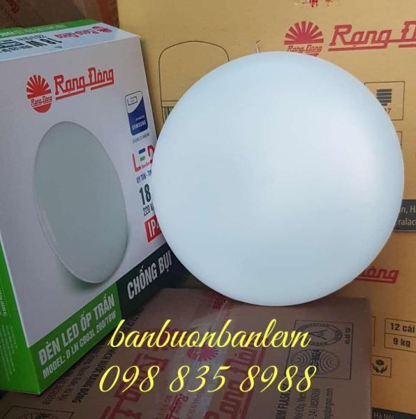 Đèn LED ốp trần chống bụi  Rạng Đông DLN CB03 260 - 18w