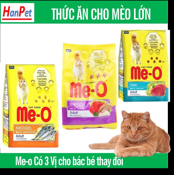 HCM-Thức ăn  dạng hạt  cho mèo lớn ME-O 350gr -(Chọn 3 vị ) thức ăn Me-0 cao cấp