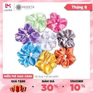 Scrunchies Dây Buộc Tóc Phong Cách Hàn Quốc - Vanieta Cosmetics thumbnail