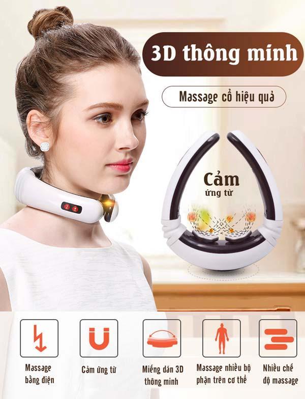 Máy massage vai gáy KL-5830