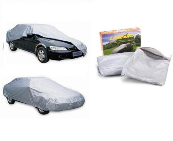 Bạt phủ xe ô tô 4-5 chỗ chất liệu vải phản quang cao cấp - cách nhiệt, chống thấm, chống nắng mưa, chống tia cực tím.