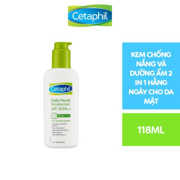 Kem dưỡng ẩm và chống nắng cho da mặt CETAPHIL DAILY FACIAL MOISTURIZER SPF15 118ml giá rẻ