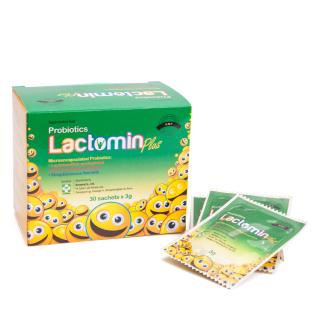 Lợi Khuẩn Probiotics Lactomin Plus hộp 30 Gói thumbnail