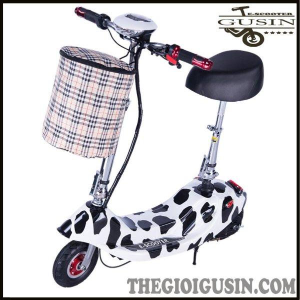 Mua Xe Điện E-scooter mini Màu Bò Sửa / GuSin Phân Phối Chính Hãng / Sỉ lẽ Toàn Quốc