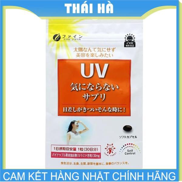 Viên Uống Chống Nắng UV Fine Japan 30 viên Nhật Bản cao cấp