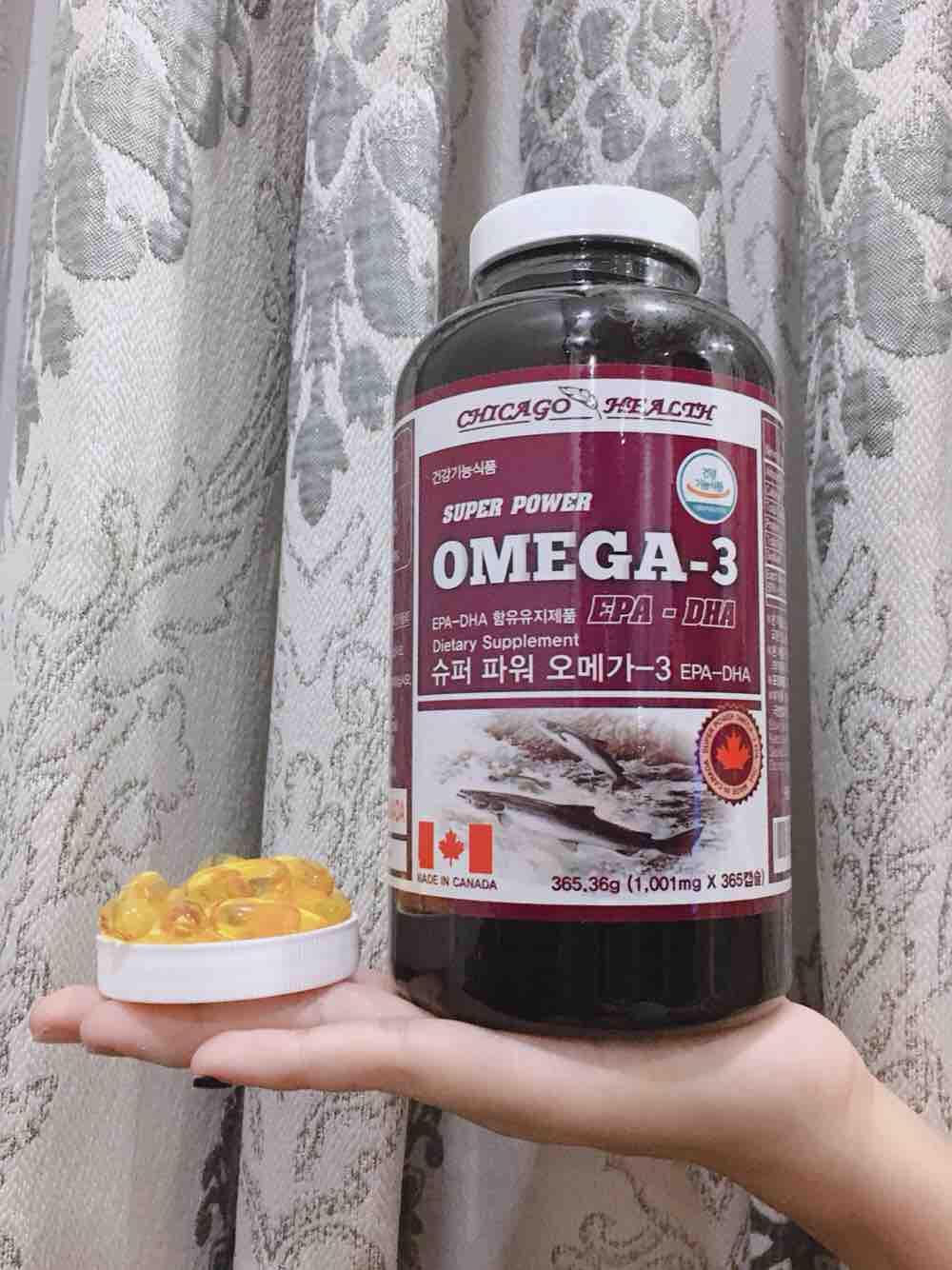 Omega 3 Super Power By Mei Beauty.