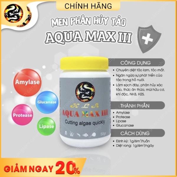 Men Diệt Tảo Hồ Cá AQUA MAX 3