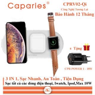 Đế Sạc Nhanh Không Dây CAPARIES CPRV02-Qi thumbnail