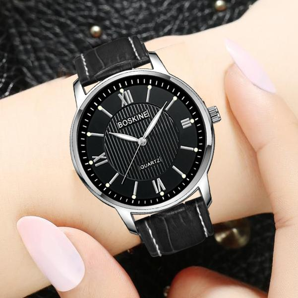 Đồng hồ nữ BOSKINE BESTHCHR Máy Nhật Bản – Dây Da Cao Cấp bán chạy