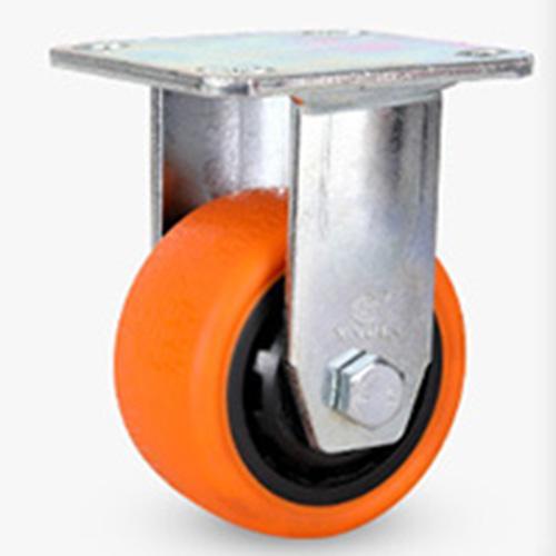 Bánh xe đẩy hàng - bánh xe đẩy công nghiệp PA - PVC 150mm