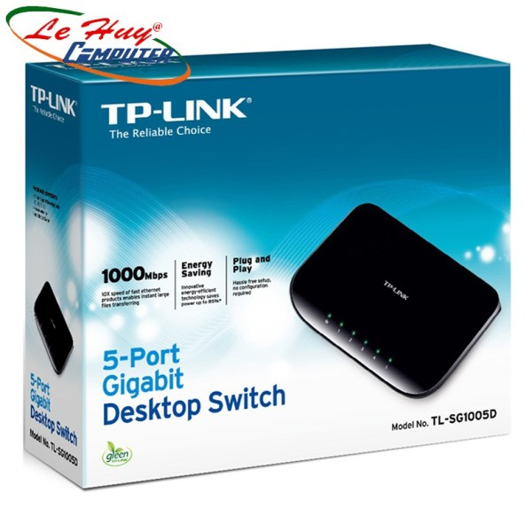 Bảng giá Switch Tplink Tl-Sg1005D-5 Cổng Gigabit - Phong Vũ