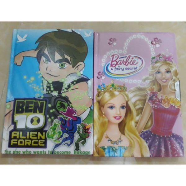 Mua Sổ Nhật ký có khóa hình công chúa Elsa và Ben10