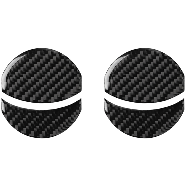 Car Carbon Fiber Air Outlet Conditioning Vent Covers for Subaru BRZ Toyota 86 2013-2020 Car Stickers