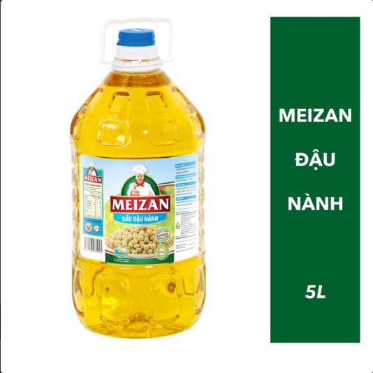 Dầu đậu nành MEIZAN Soybean Oil 5L (halal)
