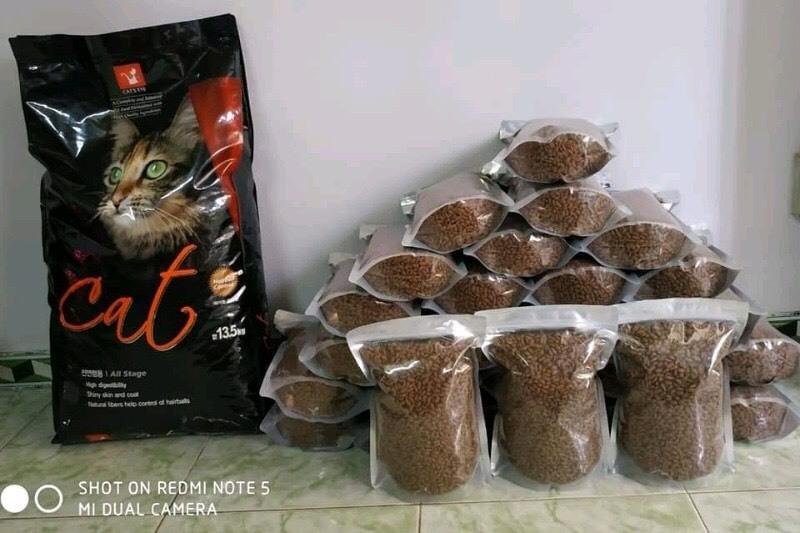 Combo 5kg hạt khô Cat's Eye cho mèo Hàn Quốc