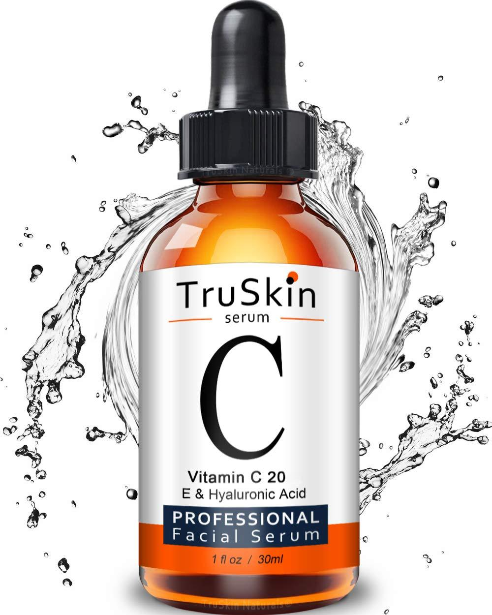 Naturals Vitamin C Serum for Face with Hyaluronic Acid & Vitamin E, 30ml