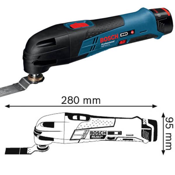 Máy cắt đa năng dùng pin Bosch GOP 12 V-LI Professional