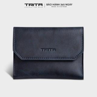 Ví mini TRITA RVN06, 6 ngăn, đựng vừa 3 thẻ namecard và tiền, phù hợp đi chơi, đi làm, da tổng hợp cao cấp , không bong tróc, không thấm nước, bảo hành 1 năm. thumbnail
