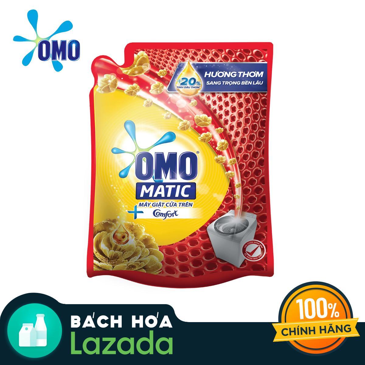Combo 4 Túi Nước giặt OMO Matic Comfort Tinh dầu...