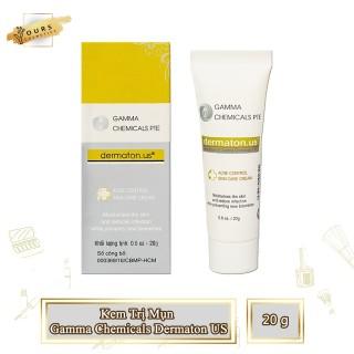 Kem Dành Cho DA Mụn Gamma Chemicals Dermaton US 20gr - Chuyên Dành Cho Da Mụn Mũ Sưng & Viêm - Chấm Mụn thumbnail