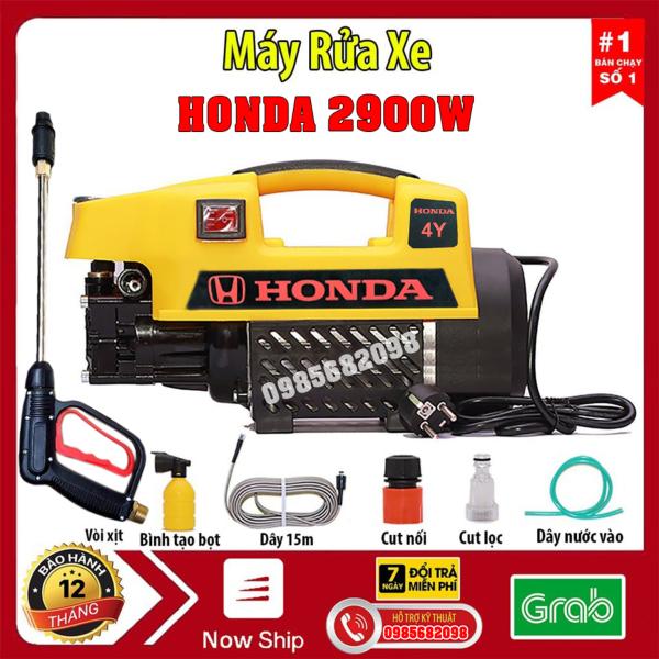 Bảng giá Máy rửa xe HONDA  Nhật Bản -2900W-lõi đồng- Dây áp lực dài 15m