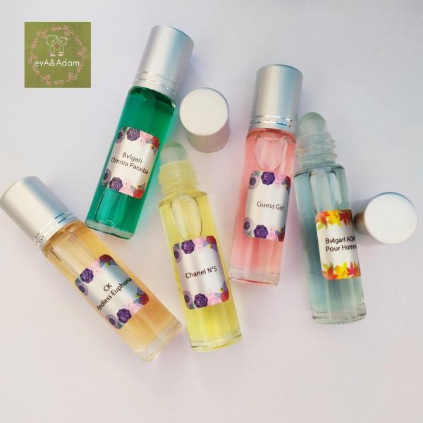 [5 lăn 10ml được chọn mùi] Tinh dầu nước hoa pháp - sỉ lẻ tinh dầu nước hoa mini nam nữ dạng lăn giá rẻ